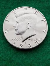 1992 S   Kennedy Half dollar- cameo   Uncirculated- proof **