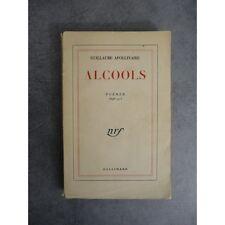 Apollinaire Guillaume Alcools Poèmes NRF Gallimard 106 eme édition 1950
