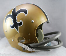 NEW ORLEANS SAINTS 1967-75 REPLICA TK Suspension Helmet