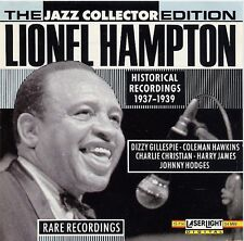 Lionel Hampton-Historical Recordings 1937-1939 CD