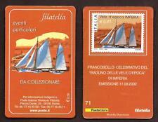 Italia 2002 - Imperia, Raduno Vele d'Epoca - tessera filatelica