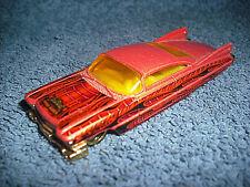 2001 HOT WHEELS PRIME RIDES CUSTOM '59 CADILLAC 1:64 PINK DIECAST CAR - NICE