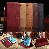 For iPhone 6 6S Plus New Luxury Flip Leather Card Holder Stand Wallet Case Cover