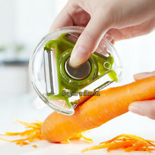 NEW Practical Vegetable Fruit Peeler Parer Julienne Stainless Cutter Slicer
