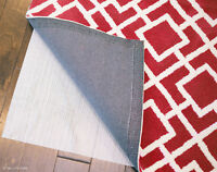 NEW TRU Lite Non Slip Rug Pad, many sizes, white, trimmable non-skid rug grip