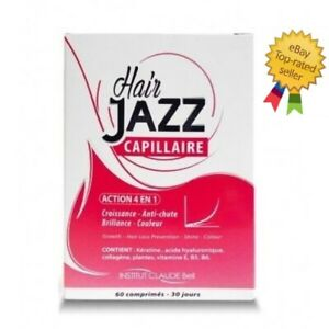 Hair Jazz Hair Growth Vitamins - 1 Months Supply - 60 Caps - Free Shipping!!!