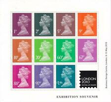 More details for gb 2010 london 2010 exhibition machin m/s mnh sg ms 3023 (fv £5.05) scarce!