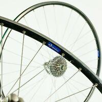 """SHIMANO ULTEGRA 6500 WHEELS 700c 9 10 SPEED ROAD BIKE 28"""" VINTAGE 90s BICYCLE"""