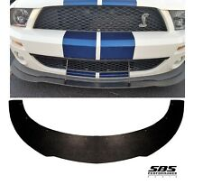FRONT SPLITTER for 2007-2009 SHELBY GT500 MUSTANGS (mounting holes predrilled)