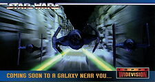 STAR WARS 1994 TOPPS WIDEVISION PROMO CARD SWP3