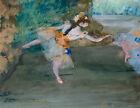 Dancer Onstage Edgar Degas Home Decor Print CANVAS Giclee Repro Poster 8x10 SM