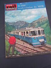 vie du rail 1968 1141 SAINT AMOUR COLIGNY LE MOULIN-PONT BéNY MORZINE THONON