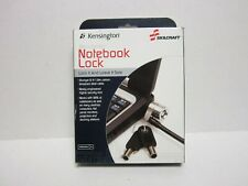 SKILCRAFT 5340013842016 Laptop Security Lock And Cable, 6ft, Two Keys, Silver