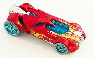 Hot Wheels Limited Edition  Rocket Fire Made In 2007 Mattel Red Toy Car L9937