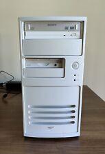 Beige White PC with AMD Ryzen 7 3700X, 32GB RAM, 2TB storage, Iomega ZIP drive