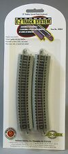 BACHMANN N SCALE E-Z TRACK 19 INCH RADIUS CURVE (6) SECTIONS eztrack 44804 NEW