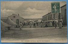 CPA: OUDJDA - La Camp - Quartier des Chasseurs / MAROC - 1914