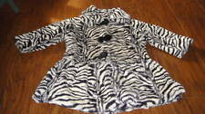 BOUTIQUE WIDGEON 3T ZEBRA WINTER COAT