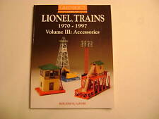 Greenberg's Lionel Trains 1970-1997 Vol III: Acces.