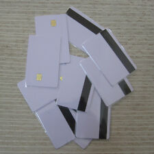 12 pcs Smart IC card with SLE 4442 chip + magnetic stripe HiCo  Contact IC card