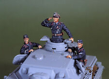 DEF Model 1/35 WWII Early War WH Panzer Crew Set (3 Figures)