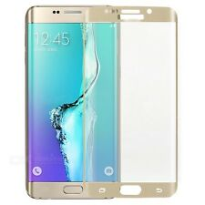 Full Curved 3D GOLD Tempered Glass screen protector for Samsung Galaxy S6 Edge