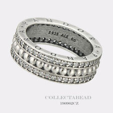 Authentic Pandora Silver Forever Pandora Clear CZ Ring Size 54 (7) 190962CZ