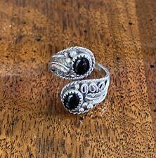 Yazzie sz 7 8 9 Native American Navajo Ring 925 Sterling Silver Signed Ey Elsie