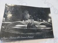 Postkarte Oldtimer Arezzo La Brunnen Bahnhof Der Zug Shipped 1955