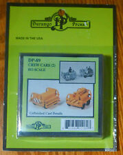 Durango Press Ho #89 Crew Car (2 in package) Light Cast Metal kits