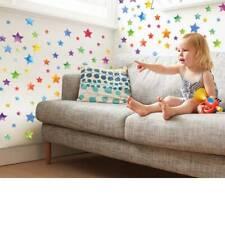 Colorful Rainbow Stars Wall Stickers Bedroom Nursery Decal Mural Kids Girls ONE
