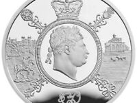 2020 George III £5 pound Coin Brilliant Uncirculated Royal Mint Bunc