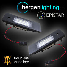 FOR BMW 6 SERIES E63 E64 2004-2011 24 LED NUMBER PLATE LIGHT LAMP PAIR