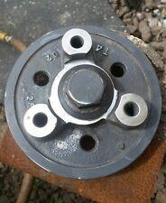 KUBOTA V3300 DIESEL ENGINE M9000 TRACTOR CRANKSHAFT BELT PULLEY 1C010 4 CYLINDER