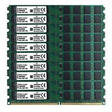 20GB 2GBX10 DDR2 800Mhz PC2-6400 DIMM Desktop RAM 200 Pins 1.8V NON ECC Bulk/Lot