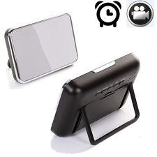 Camera Alarm Clock Spy Hidden Nanny Cam Motion Detection Mini DVR Video + Remote