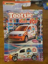 2020 Matchbox Tootsie ROLL POP Volkswagen Caddy Delivery