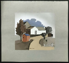 WPA Era Color Print 1936 ~ HERMAN MARIL ~ The Farm AMERICAN ARTISTS GROUP