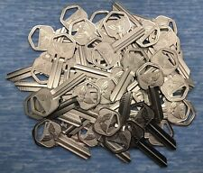 KW1 Nickel Plate Residential Key Blanks for Locksmith - 50 Pieces