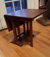 THE BARTLEY COLLECTION ♡ PETITE HARD WOOD DROP LEAF TABLE ♡ CHILD'S TEA TABLE