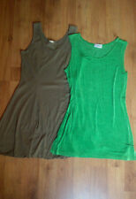 Kleiderpaket 2 supersüße Kleider kurz Minikleid grün Größe M