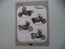 advertising Pubblicità 1980 MOTOPLAST e KAWASAKI Z 1300/SUZUKI GSX 1100/HONDA