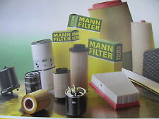 Man Filter Package Each 1X Oil Air and Pollen Filter Audi A4 NEW - 3 Pieces