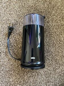 Braun KSM 2B Aromatic Coffee Bean Spice Grinder 2.5oz 12 Cup Black Working