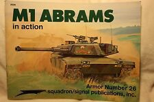 M-1 Abrams in Action Squadron Signal Book # 2026 Very Good Condition