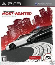 Used PS3 Need for Speed Most Wanted SONY PLAYSTATION 3 JAPAN JAPANESE IMPORT