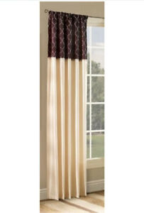 """Stylemaster Ludlow 54"""" x 84"""" Interchangeable Panel with Embroidered Band"""