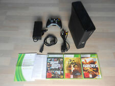 Xbox360 / Xbox 360 4GB S + Controller + Kabel + GTA / FarCry / Resident Evil