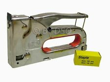 Heavy Duty Hand Operated Staple Gun 4-8mm Staples