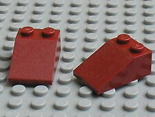 LEGO DkRed slope brick 3298 /set 21010 3185 4840 75039 31012 4748 4501 7017 8800
